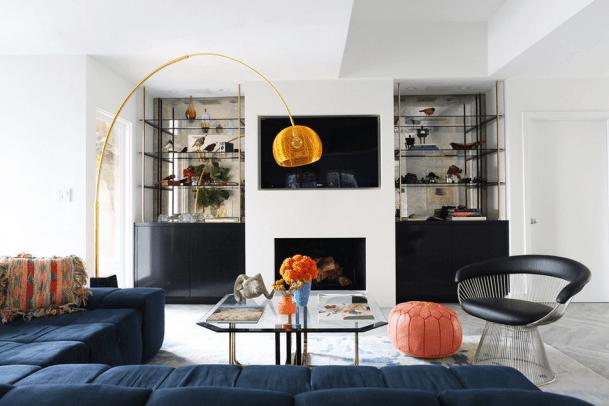 Desain Sofa Dan Dekorasi Lampu